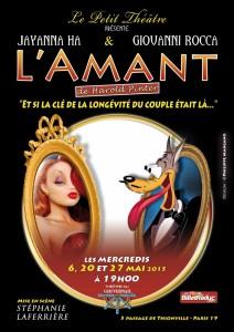 """Théâtre : """"L' amant"""""""