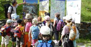 Les élèves et la nature