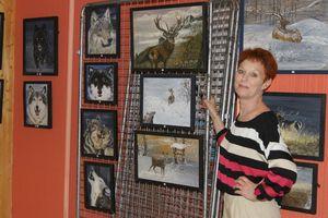 Lina Clerc,  peintre animalier