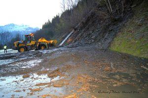 Coulée de boue, le ruisseau sort de son lit
