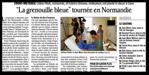 article grenouille