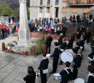 La cérémonie du 11 novembre 2014