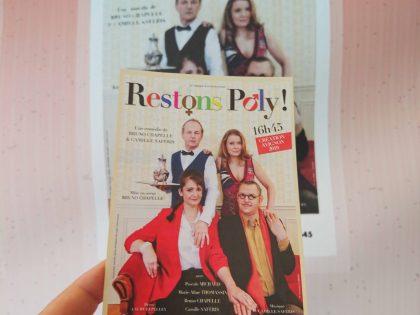 «Restons Poly» pièce d'Avignon Off