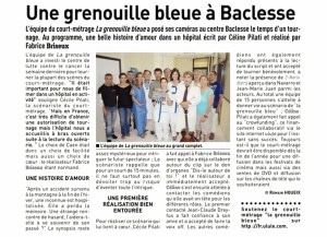 article grenouille aout 2013
