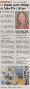 article presse la grenouille belue