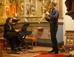 Un concert piano et saxo