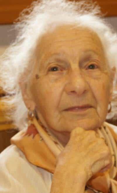 Odette Empereur, dynamique doyenne du club des aînés ruraux de la commune.